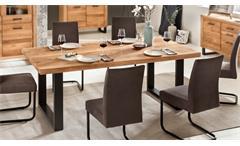 Esstisch Tina Esszimmertisch Küchentisch Tisch in Eiche massiv geölt 200x100