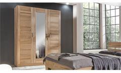 Kleiderschrank Lia 3S Schrank Schlafzimmerschrank Kernbuche mit Spiegel 152