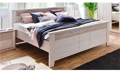 Bett Göteborg Doppelbett Bettgestell Holzbett in Kiefer massiv Landhausstil