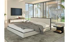Polsterbett SPEEDY Schlafzimmerbett Bett 140x200 in weiß