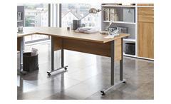 Schreibtisch Calvia 1 Bürotisch Computertisch Laptoptisch Tisch Alteiche 120x80