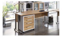 Schreibtisch Calvia 2 Bürotisch Computertisch Laptoptisch Tisch Alteiche 160x80