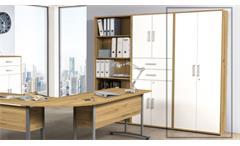 Aktenschrank Büroschrank Standschrank Dallas Artisan Eiche 2-trg Arbeitszimmer