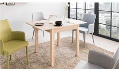 Esstisch Coburg Tisch Küchentisch Esszimmertisch Sonoma Eiche Auszug 80-120x80