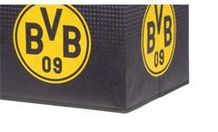 Faltbox Flori BVB 09 Aufbewahrungsbox Borussia Dortmund Design in schwarz gelb