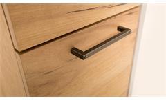 Büroset 1 Momo Schreibtisch Regal Schrank Home Office in Beton grau Honig Eiche