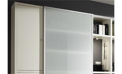Regalkombi Toro 111 Anbauwand Wohnwand weiß inkl. Beleuchtung