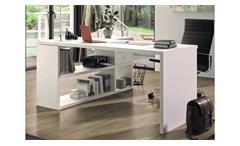 Schreibtisch TORO 1 System weiß matt lackiert