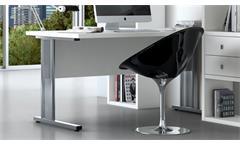 Büro Set Arbeitszimmer Büromöbel Home Office Toro 70 System weiß matt Lack