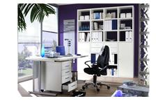 Büro-Set Toro 17 System weiß matt lackiert