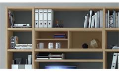 Büroregal Büro-Set Aktenregal Bücherregal Regal Büro Toro 69 System Sonoma Eiche
