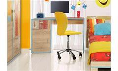 Schreibtisch BOWLING Sonoma Eiche
