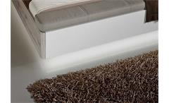 LED-Sockelbeleuchtung RONDINO in weiß für Bettanlage