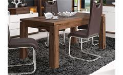Esstisch Alcano Tisch Esszimmertisch Schlammeiche ausziehbar 160-207