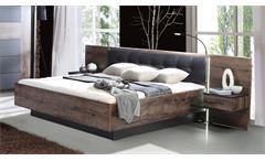 Schlafzimmer Bellevue Bett 180x200 Nachttische Schwebetürenschrank Sideboard