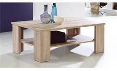 Couchtisch Bruce Tisch Beistelltisch Wohnzimmertisch in Sonoma Eiche mit Ablage
