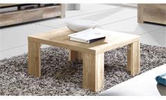 Couchtisch Calpe Tisch Wohnzimmertisch Beistelltisch in Sonoma Eiche 70x70 cm