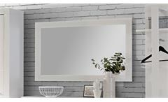 Spiegel Wandspiegel weiß Hochglanz Flurspiegel Attrus Garderobenspiegel Flur