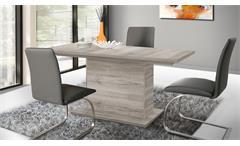 Esstisch DINING TABLES Sandeiche EST42 ausziehbar 160-200