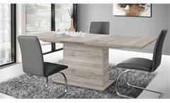 Esstisch Dining Tables EST42 Säulentisch Synchronauszug Sandeiche 160-200 cm