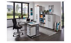 Aktenschrank 0657 Profi Büroschrank Schrank Büromöbel grau von Germania 80x120
