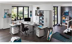 Aktenschrank 0660 Profi Schrank Büroschrank Büromöbel grau von Germania 80x199