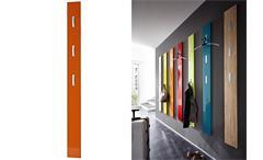 Garderobenpaneel Colorado Wandpaneel Paneel orange Hochglanz Tiefzieh Germania