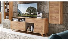Sideboard Calvi Kommode TV-Board in Navarra Eiche und Steingrau von Germania