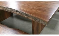 Baumtisch Riva Esstisch Massivholz Akazie lackiert 210 x 110 cm