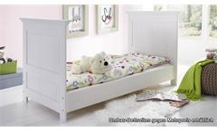 Babybett Ronja Bett Gitterbett Babyzimmermöbel in Kiefer massiv weiß