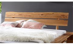 Balkenbett Grip Doppelbett Bett Futonbett in Wildeiche massiv geölt 180x200 cm