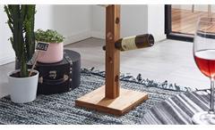 Weinständer KM-0240 Flaschenständer Flaschenhalter Wildeiche massiv geölt 32x150