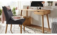 Schreibtisch Sekretär Konsolentisch Gamia Bürotisch Wildeiche massiv 120 cm