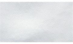 Ecksofa Lola Eckgarnitur in Weiß und Grau Webstoff mit Schlaffunktion 270x185