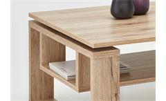 Couchtisch Tobias Beistelltisch Wohnzimmertisch Tisch San Remo Eiche 110x70 cm