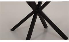 Tischgruppe Miam & Cleo Essgruppe Esszimmer Esstisch Stuhl schlamm Beton schwarz