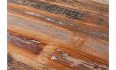 Esstisch Amar Tisch Esszimmertisch Mango massiv Metall schwarz 180