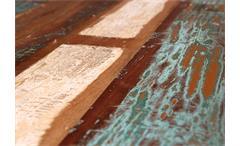 Bartisch Amarelo Esstisch Tisch höhenverstellbar Mango massiv Metall schwarz