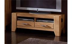 TV-Lowboard 1 LOFT TV Board Wildeiche massiv natur 120 cm