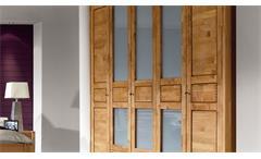 Schlafzimmer Volo Erle teilmassiv Bettanlage 180x200 Kleiderschrank 5 trg.