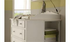 Aufsatz für PC-Schreibtisch Cinderella Premium Kinder- und Jugendzimmer Kiefer teilmassiv weiß lacki