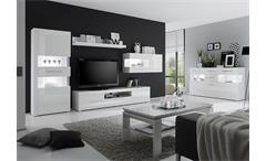 Couchtisch Star Beistelltisch Tisch Wohnzimmertisch in weiß 110x60 cm