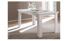 Esstisch Garden Tisch Speisezimmer in Pinie weiß 160x90 cm