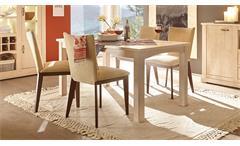 Esstisch Apres Ski Esszimmertisch Tisch für Esszimmer in Weißtanne 159x89 cm