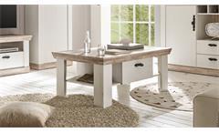 Couchtisch Florenz Beistelltisch Tisch Wohnzimmertisch in Oslo Pinie weiß 109