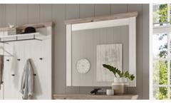Spiegel 77 Florenz Wandspiegel Hängespiegel Flurmöbel Oslo Pinie weiß 107x110