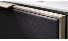 Media-Sideboard MEDIAN Media-Board Kommode in Eiche mit Soft-Close Akustikstoff