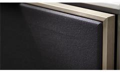 TV-Board Median Unterschrank Lowboard in Eiche mit Akustikstoff und Softclose
