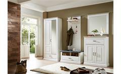 Spiegel Lima Wandspiegel Dekorspiegel Garderobenspiegel Pinie hell Taupe 89 cm