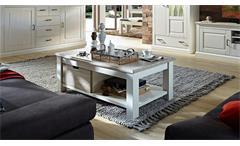 Couchtisch Limas Beistelltisch Tisch Wohnzimmertisch in Pinie hell und Taupe 124
